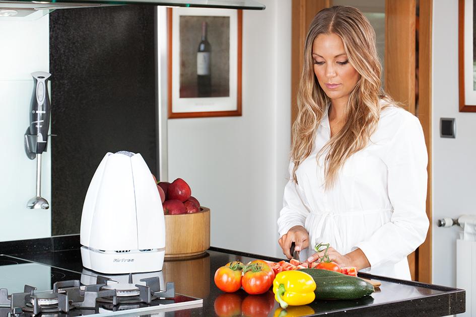 Airfree_cozinha_purificador de ar para alimentos mofo