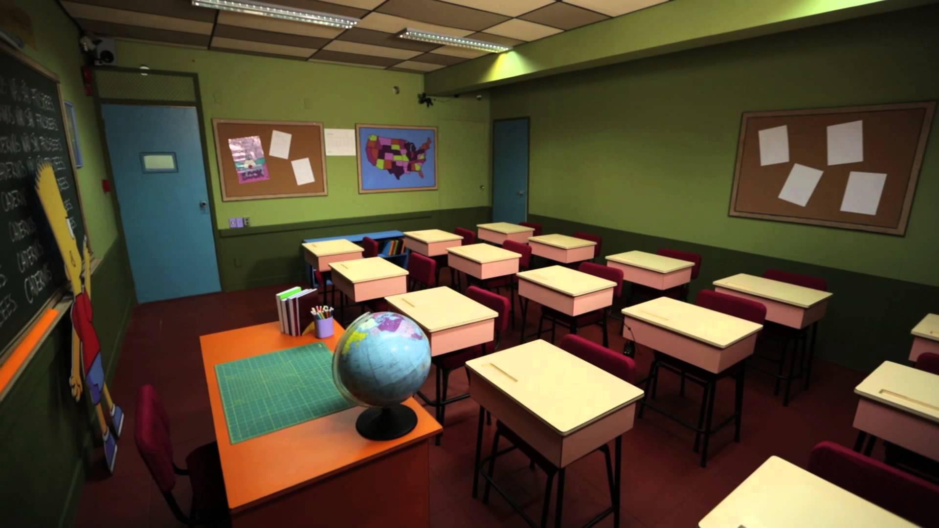 Asma Nas Escolas Blogue Airfree -> Imagens De Sala De Aula